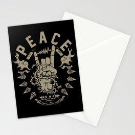 Rock & peace Stationery Cards