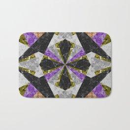 Marble Geometric Background G441 Bath Mat