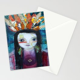 Indian Princess Stationery Cards