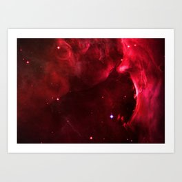Orion Nebula Gas and Dust Cavity Art Print