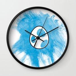 Blue Yoshi Egg Wall Clock