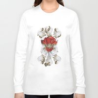 roman Long Sleeve T-shirts featuring Roman Marble by Eleaxart