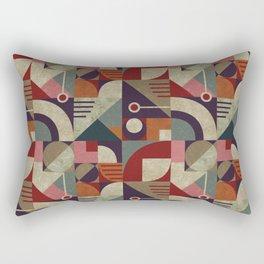 Bauhaus style Rectangular Pillow