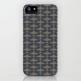 B-25 Mitchell Bomber Pattern iPhone Case