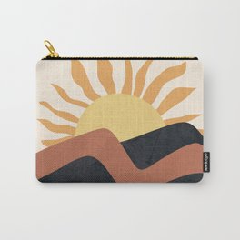 Hill Sunset Carry-All Pouch