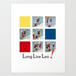 Long Live Leo Messi Art Print