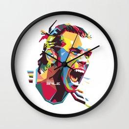 Gareth Bale WPAP 3 Wall Clock