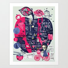 Fugetabout it! Art Print