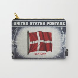 Flag of Demark Carry-All Pouch