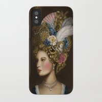 marie antoinette iPhone & iPod Cases featuring Marie Antoinette by 8tephanie 8anchez