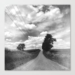 Back Road Adventure Canvas Print