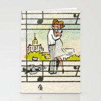 the office Stationery Cards featuring office romance by peopletoo