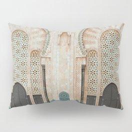 Mosque Hassan II in Casablanca, Morocco Pillow Sham