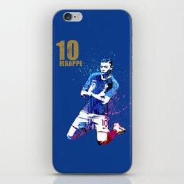 Sports art _ France world cup football 2018 iPhone Skin