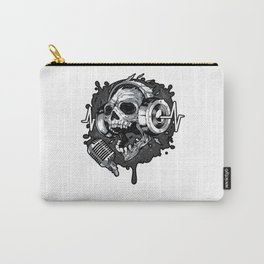 Skull Music Life Carry-All Pouch