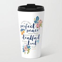 Perfect Peace Travel Mug