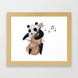 Mr. Paws Framed Art Print