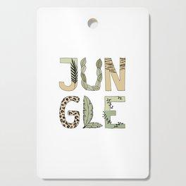 Jungle Cutting Board