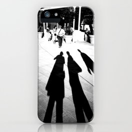 Venetian Shadows Noir iPhone Case