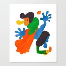 A Player Canvas Print