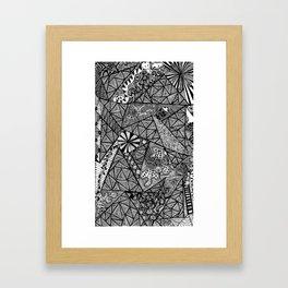 Germ Control Framed Art Print