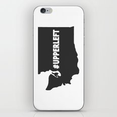 #Upperleft Gray iPhone & iPod Skin
