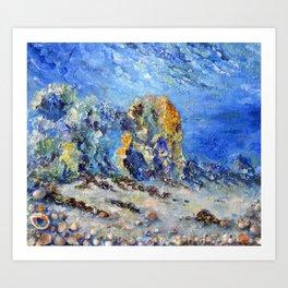 Undersea world # 3 Art Print