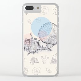 Seaside Cottage Beach Boi - Collab w Freezing Paint Clear iPhone Case
