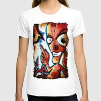 graffiti T-shirts featuring Graffiti by Fine2art