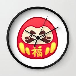 JAPANSTICK DARUMA Wall Clock