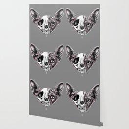 Shynx Half Skull Wallpaper