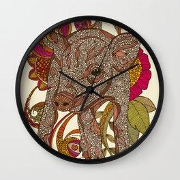 Paisley Piggy Wall Clock