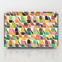 ikat iPad Cases featuring ikat weave by Sharon Turner