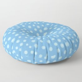 Dotted Watercolor Pattern Floor Pillow