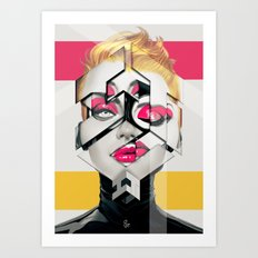 Shape - 2 Art Print