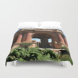 Palace of Fine Arts - Marina District Duvet Cover