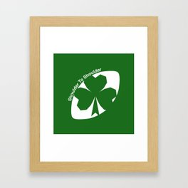 Rugby Ireland Framed Art Print