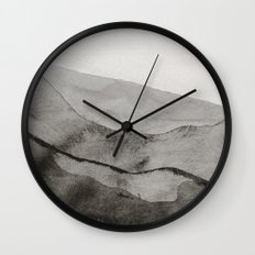 Ink Layers Wall Clock
