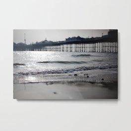 Brighton. Metal Print