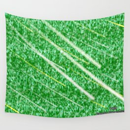 Green Streak Wall Tapestry