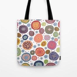 Circular Whimsy Tote Bag