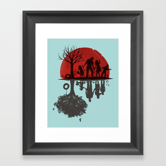 A Family Once Framed Art Print