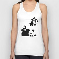 sleep Tank Tops featuring Sleep by Panda Cool