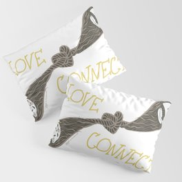 Love Connects Pillow Sham