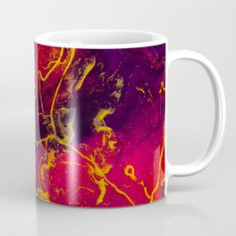 Vulcan's Playground - An Abstract Coffee Mug