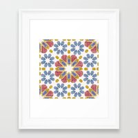 morocco Framed Art Prints featuring Morocco by Vicky Webb