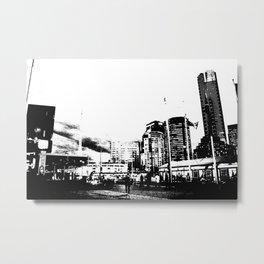 Melbourne City II Metal Print