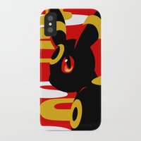 umbreon iPhone & iPod Cases featuring #197 - Umbreon by Solis