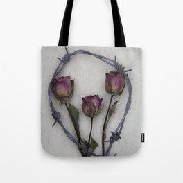 Three dried Roses II Tote Bag