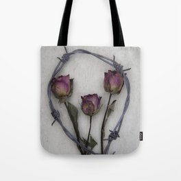 Three dried Roses II Tote Bag